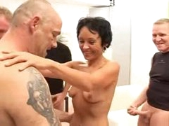 Skinny mature anal hardcore and facial